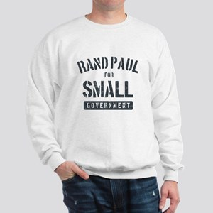Rand Paul for small government Sweatshirt