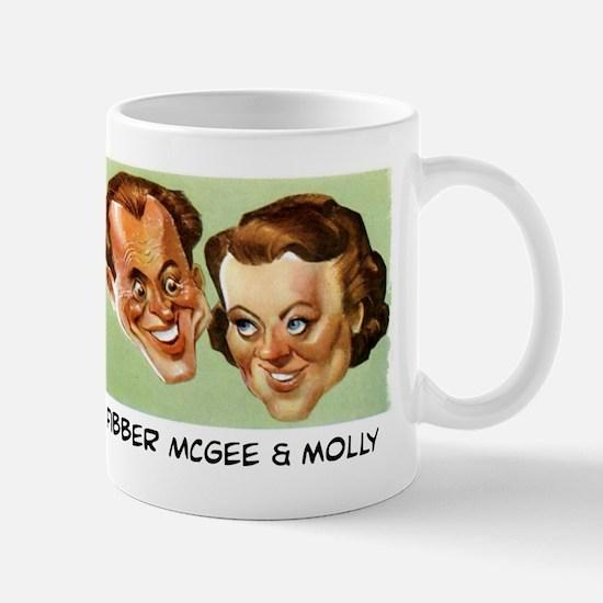 FIBBER MCGEE & MOLLY - OLD TIME RADO Mugs