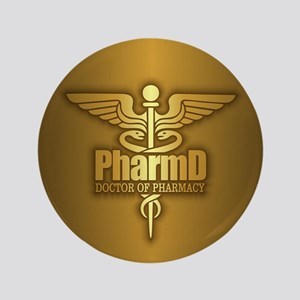 PharmD gold Button