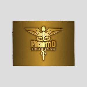 PharmD gold 5'x7'Area Rug