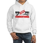 REAL MEN PULL CONVENTIONAL Hoodie