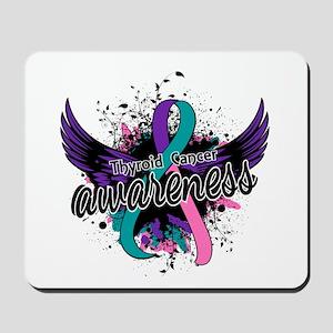 Thyroid Cancer Awareness 16 Mousepad