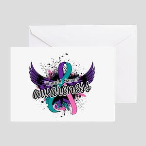 Thyroid Cancer Awareness 16 Greeting Card