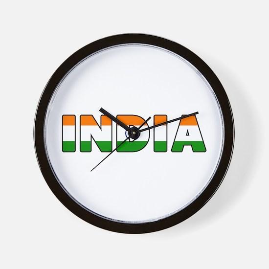 India Wall Clock