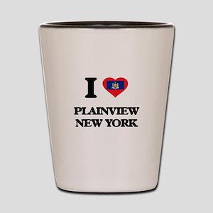 I love Plainview New York Shot Glass