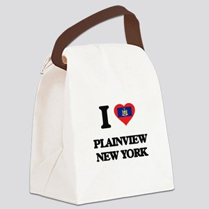 I love Plainview New York Canvas Lunch Bag