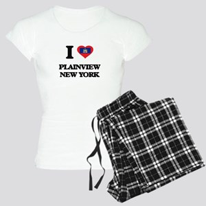 I love Plainview New York Women's Light Pajamas