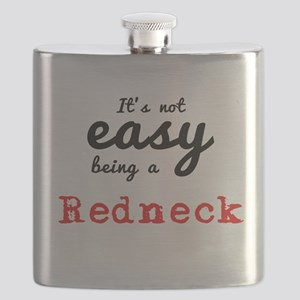 It's Not easy being a Redneck Flask