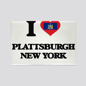 I love Plattsburgh New York Magnets