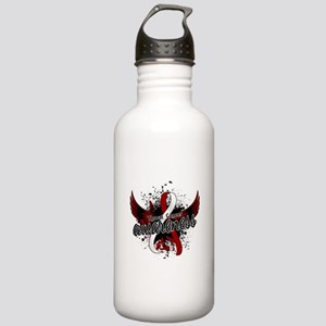 Throat Cancer Awarenes Stainless Water Bottle 1.0L