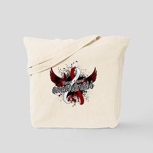 Throat Cancer Awareness 16 Tote Bag
