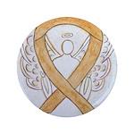 Amber Ribbon Angel Button