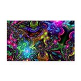 """Psychedelic 3"""" x 5"""""""