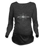 Maine 2015 Winter Long Sleeve Maternity T-Shirt