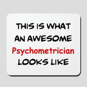 awesome psychometrician Mousepad