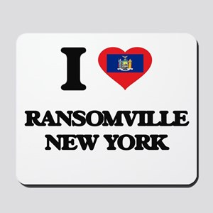 I love Ransomville New York Mousepad