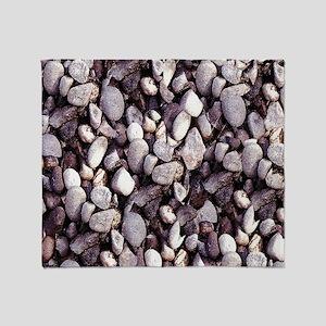 Tiny Pebbles Throw Blanket