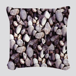 Tiny Pebbles Woven Throw Pillow