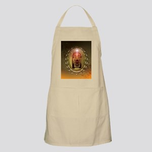 Vintage, musicbox with light effect Apron
