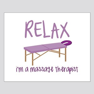 Relax Message Table Posters