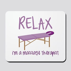 Relax Message Table Mousepad