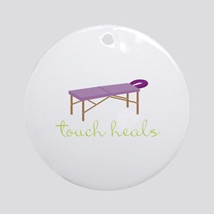 Touch Heals Table Ornament (Round)