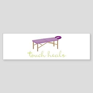 Touch Heals Table Bumper Sticker