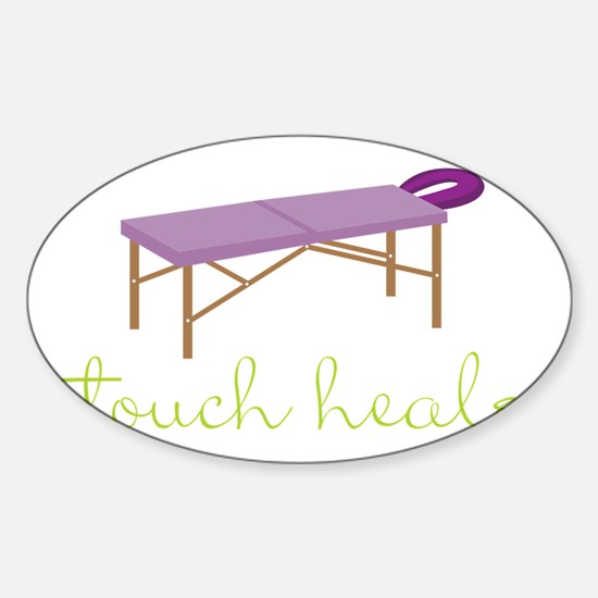 Touch Heals Table Decal