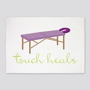 Touch Heals Table 5'x7'Area Rug