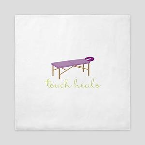 Touch Heals Table Queen Duvet