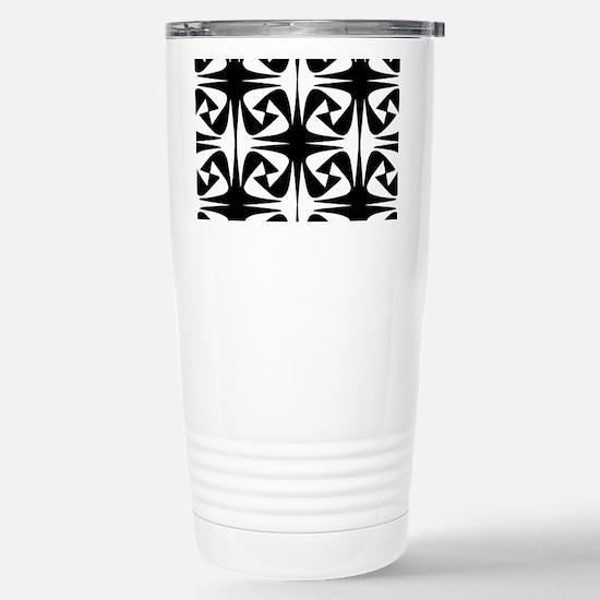 Dark and Light Stainless Steel Travel Mug