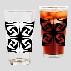Dark and Light Drinking Glass