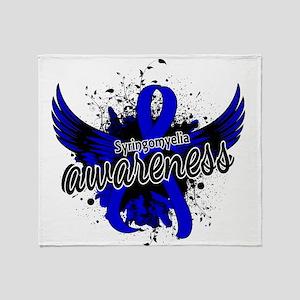 Syringomyelia Awareness 16 Throw Blanket
