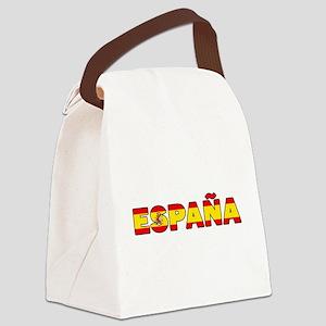 España Canvas Lunch Bag