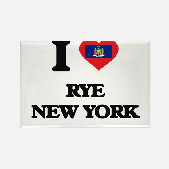 I love Rye New York Magnets