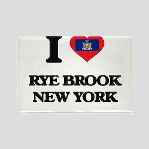 I love Rye Brook New York Magnets
