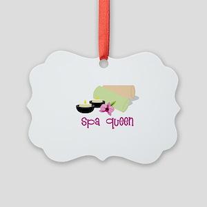 Spa Queen Ornament