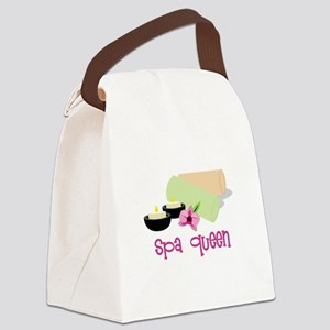 Spa Queen Canvas Lunch Bag