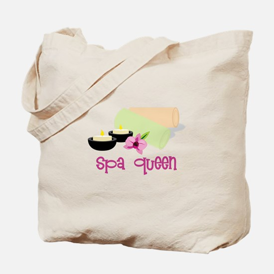 Spa Queen Tote Bag