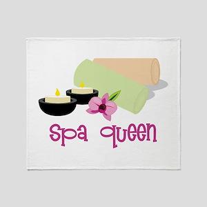 Spa Queen Throw Blanket
