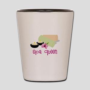 Spa Queen Shot Glass