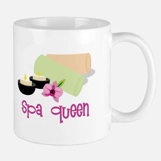 Spa Queen Mugs