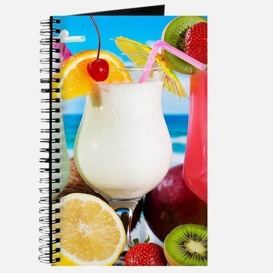 Exotic Summer Cocktails Journal
