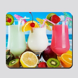 Exotic Summer Cocktails Mousepad