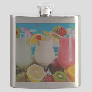 Exotic Summer Cocktails Flask