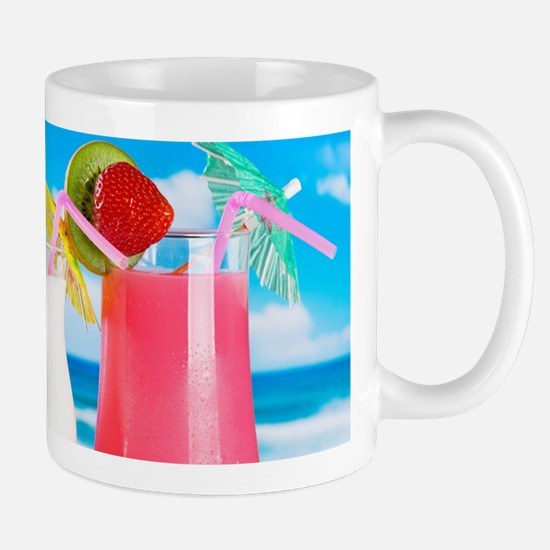 Exotic Summer Cocktails Mugs