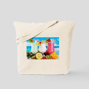 Exotic Summer Cocktails Tote Bag