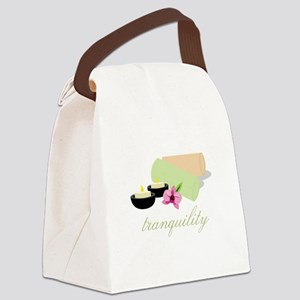 Tranquility Towels Canvas Lunch Bag