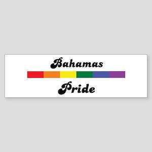 Bahamas pride Bumper Sticker