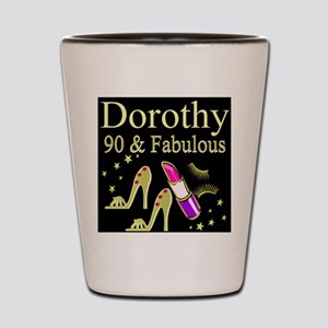 PERSONALIZED 90TH Shot Glass